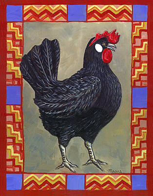 Leroy The Rooster Poster