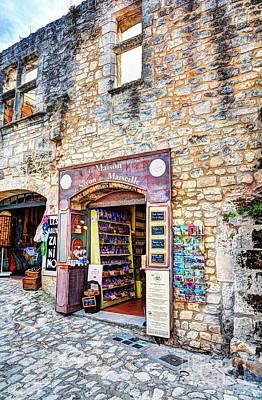 Les Baux De Provence 11 Poster by Mel Steinhauer