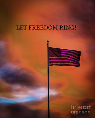 Let Freedom Ring Poster by Robert Bales