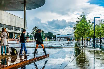 Let It Rain Poster by Alexander Senin