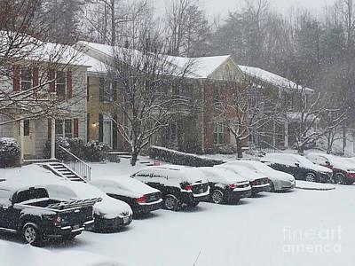 Let It Snow Snow Snow Poster