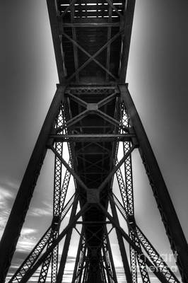 Lethbridge High Level Bridge 4 Poster by Bob Christopher