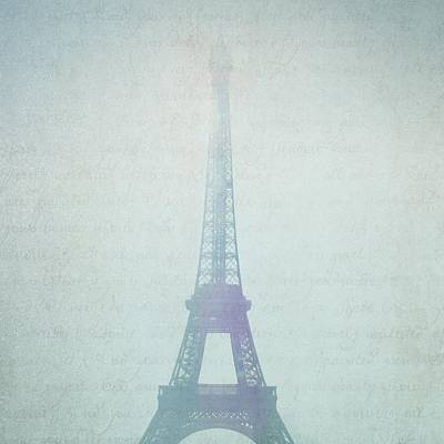 Letters From Paris Poster by Lisa Parrish