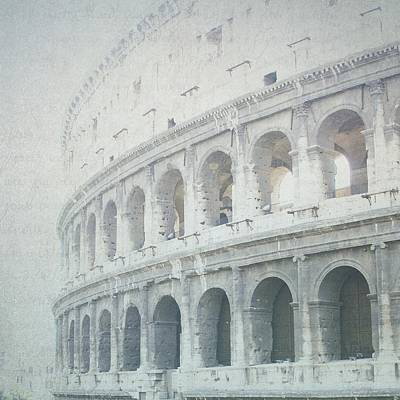 Letters From The Colosseum Poster by Lisa Parrish
