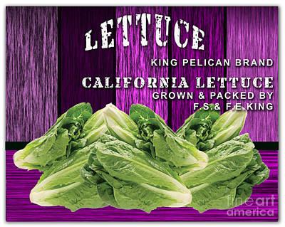 Lettuce Farm Poster