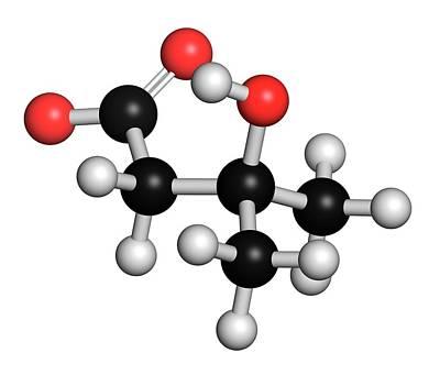 Leucine Metabolite Molecule Poster by Molekuul