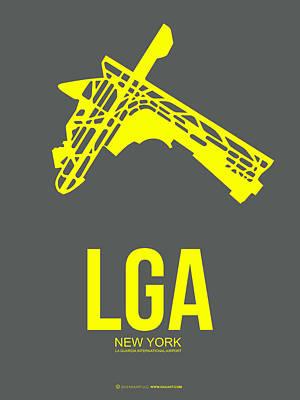 Lga New York Airport 1 Poster by Naxart Studio
