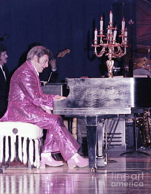 Liberace Piano Candelabra 1970 - We Will Be Seeing You Lee Liberace Poster by Wayne Nielsen