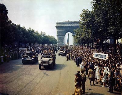 Liberation Of Paris Poster