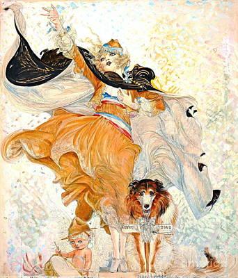Liberty Bond Ad 1917 Poster by Padre Art