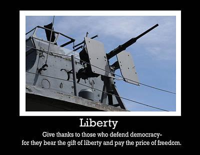 Liberty Print Poster by Michael Allen