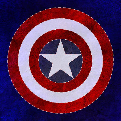 Liberty Shield Poster by Gary Grayson