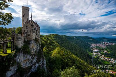 Lichtenstein Castle - Baden-wurttemberg - Germany Poster by Gary Whitton