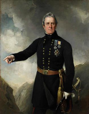 Lieutenant-general Sir George Pollock Poster