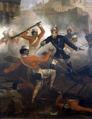 Lieutenant William Alexander Kerr Poster