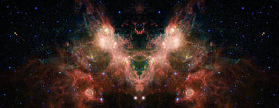 Life And Death Of Stars 4 Poster by Jennifer Rondinelli Reilly - Fine Art Photography