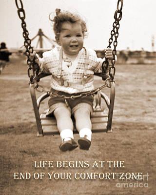 Life Begins Poster by Terri Waters