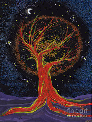 Life Blood Tree By Jrr Poster by First Star Art