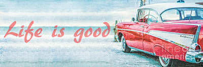 Life Is Good Poster by Edward Fielding