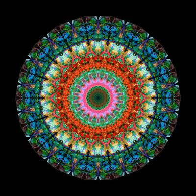 Life Joy - Mandala Art By Sharon Cummings Poster by Sharon Cummings