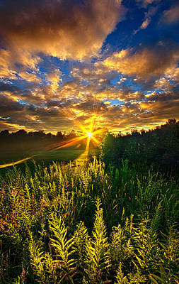 Life Was Changed Poster by Phil Koch
