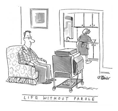 Life Without Parole Poster by Peter Steiner