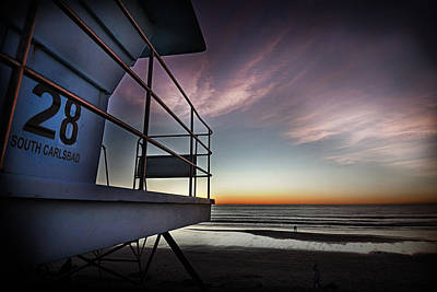 Lifeguard Tower Series - 21 Poster by James David Phenicie