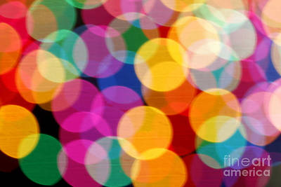 Light Abstract Poster by Tony Cordoza