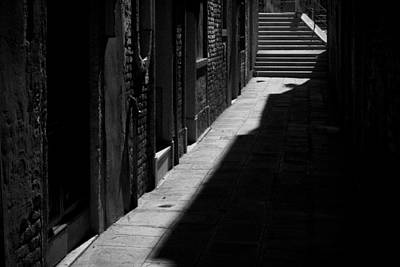 Poster featuring the photograph Light And Shadow - Venice by Lisa Parrish