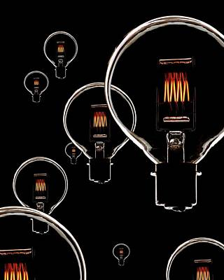 Light Bulbs Poster by Mark Sykes