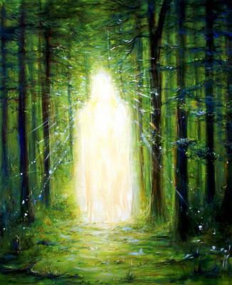 Light In The Garden Poster