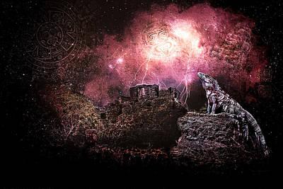 Light Of The Maya Poster