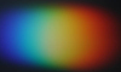 Light Refracted - Rainbow Through Prism Poster by Denise Beverly