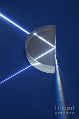 Light Refraction Poster by GIPhotoStock