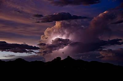 Light Up The Skies  Poster by Saija  Lehtonen
