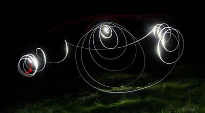 Lightbrush Doodle Poster