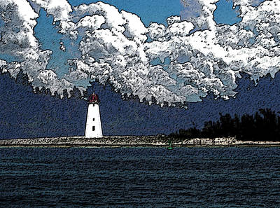 Lighthouse Poster by Aimee L Maher Photography and Art Visit ALMGallerydotcom
