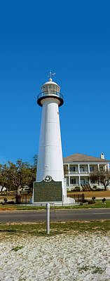 Lighthouse At The Roadside, Biloxi Poster
