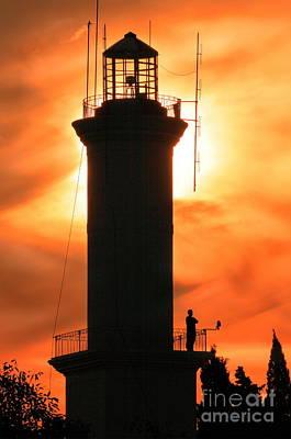 Poster featuring the photograph Lighthouse I by Bernardo Galmarini