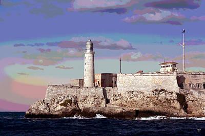 Lighthouse Morro Castle Havana Poster