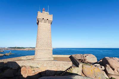 Lighthouse On The Coast, Leuchtturm Von Poster