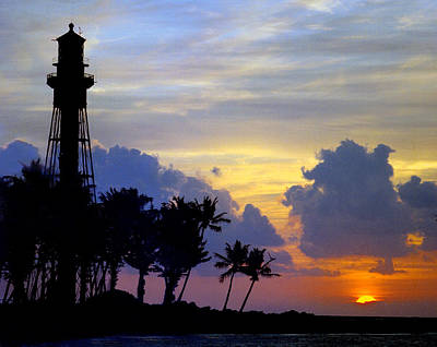 Lighthouse Point Sunrise 2 Poster