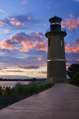 Poster featuring the photograph Lighthouse by Sonya Lang