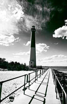 Lighthouse Walk Poster by John Rizzuto