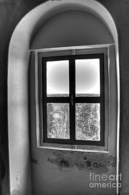 Lighthouse Window At Point Iroquois Poster by Twenty Two North Photography