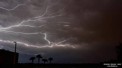 Lightning 5 Poster by Richard Zentner