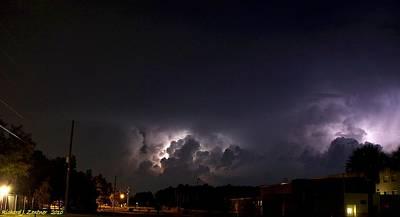 Lightning 9 Poster by Richard Zentner