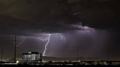 Lightning Over Las Vegas Poster