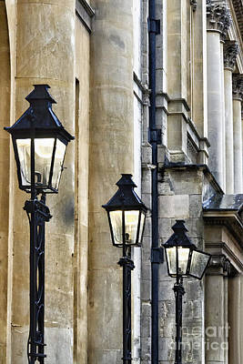 Lights And Columns Poster by Margie Hurwich