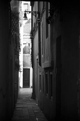 Poster featuring the photograph Light's Passage - Venice by Lisa Parrish